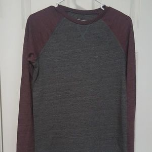 Tucker & Tate Charcoal/Maroon Long Sleeve Shirt